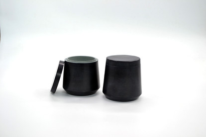 Marble Canister - Black