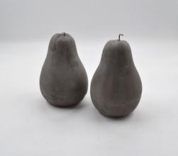 Rania Concrete Pear - Grey/white