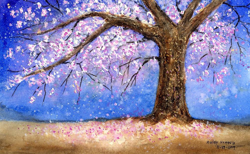 """Cherry Blossom"" by Hailey E. Herrera"