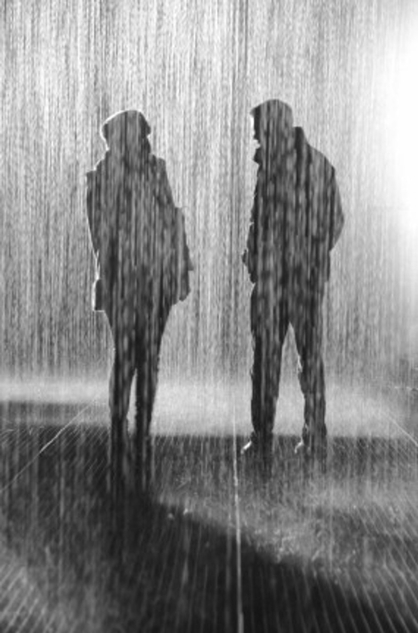 """Conversation in the Rain"" by Dom Crossley"