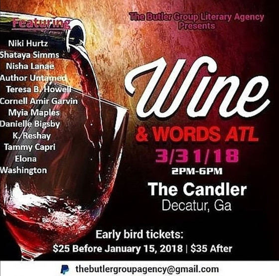 Wine and Words ATL