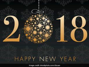 Farewell 2017, Hello 2018!
