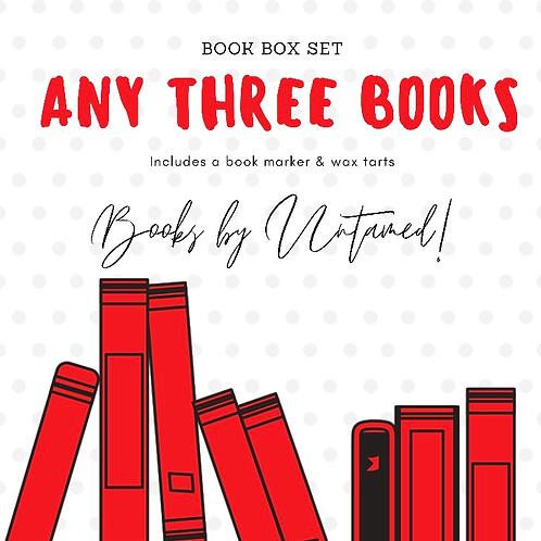 Book Box Set (Three Books)