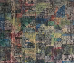 Up-cycled Landscape Patchwork No. 1