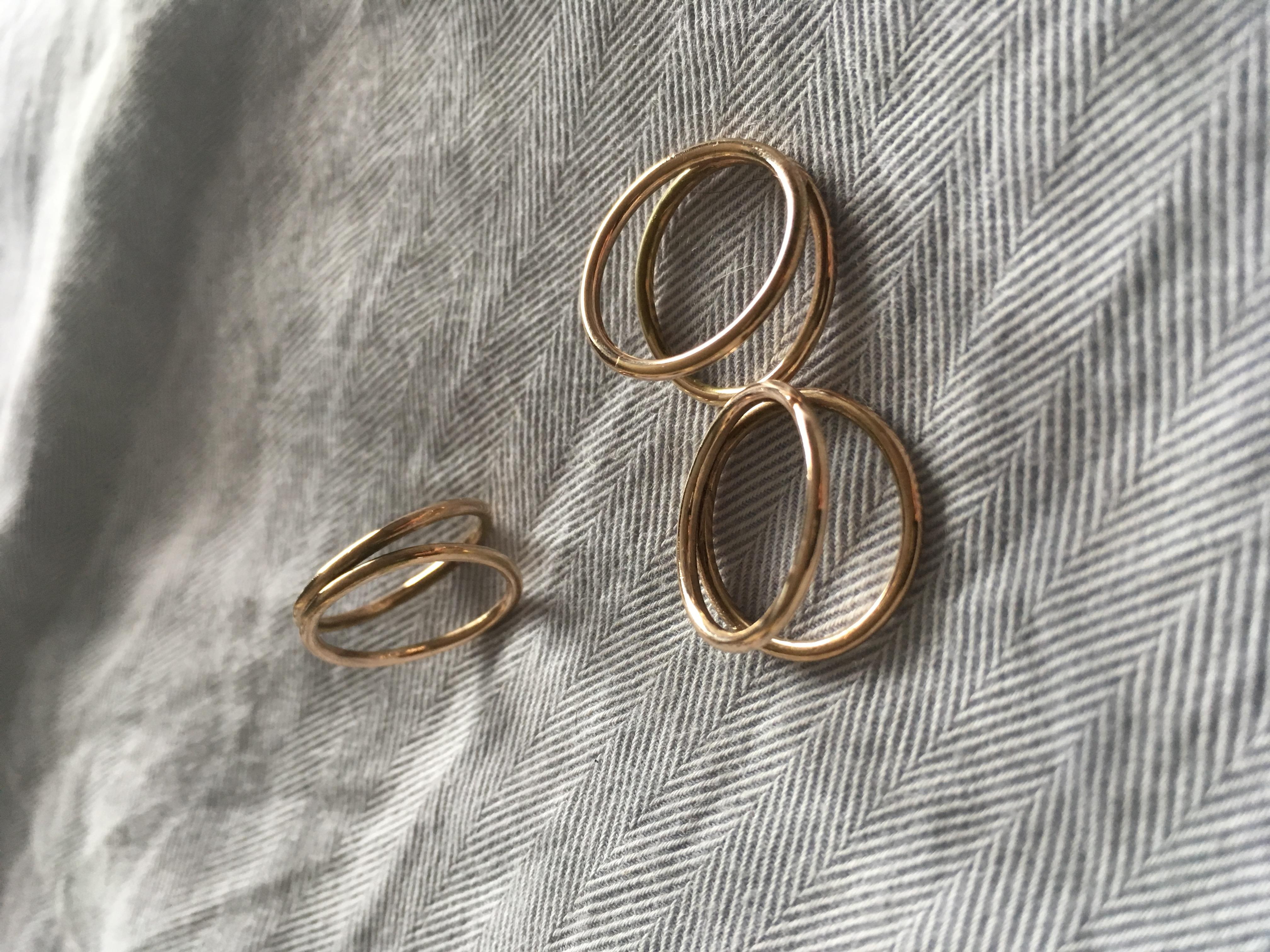 Intersecting Circle Rings