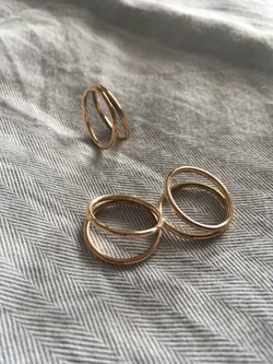 Intersecting Circle Rings