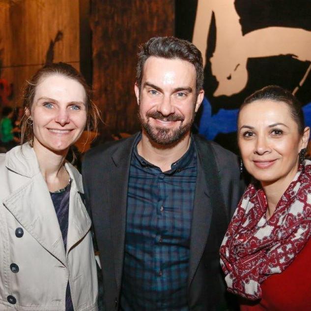 Patricia Fouani, Leonardo Muller e Michela Von Borstel Carva...