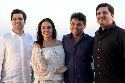 Premiados Orlean Visionaire encerram semana com jantar na praia de Óstia, em Roma