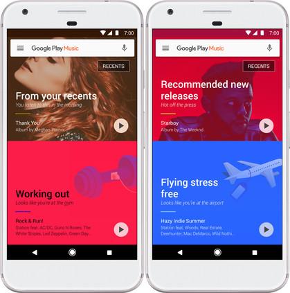 Google apresenta seu novo Google Play Música