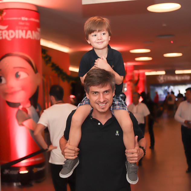 Marcelo e Luca Brum