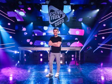 Festival Teen Live Show 2021 faz sua edição mais interativa de todos os tempos