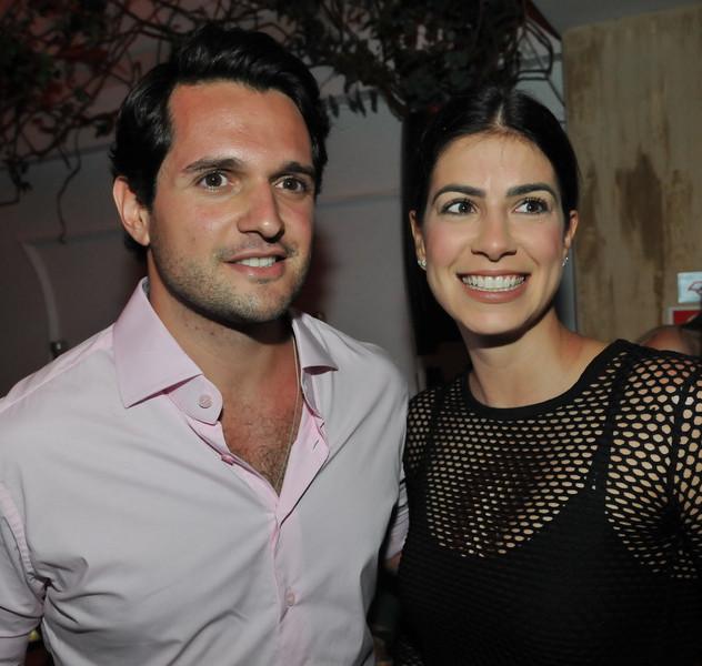 Carlos Gallucci e Carolina Piraja