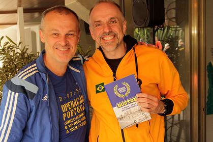 1ª edição do café da manhã para maratonistas internacionais da MPR