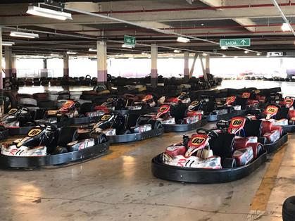 São Paulo tem a maior pista de kart em ambiente fechado do Brasil
