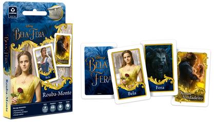 """Jogo de cartas do filme """"A Bela e a Fera"""""""