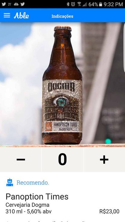 Sommelier de cervejas virtual na palma da mão ou pra levar no bolso