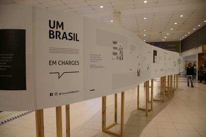 Exposição no Continental Shopping terá cartunistas renomados assinando ilustrações sobre temas cotid