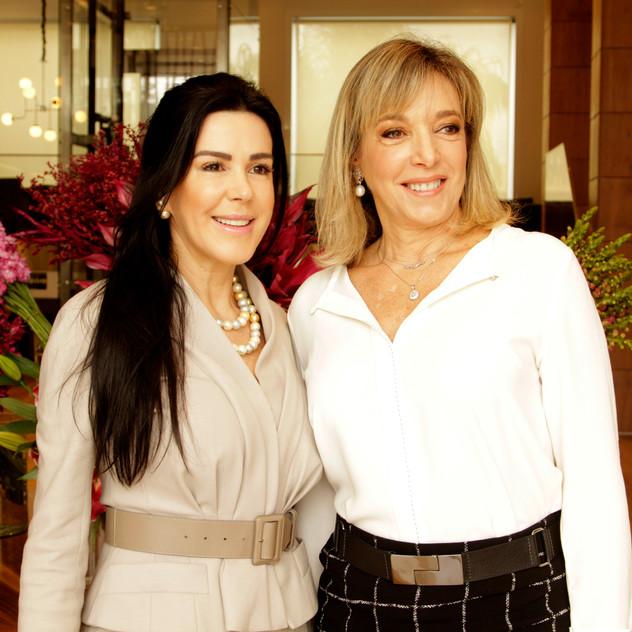 Eliandra Mendes e Anette Rivkind
