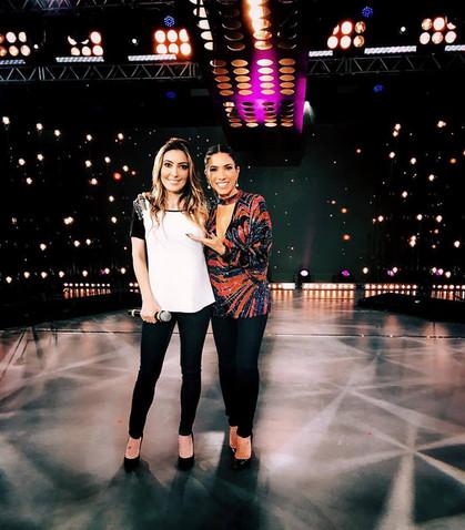 Tainá, filha de Fábio Jr., faz primeira aparição na TV como cantora
