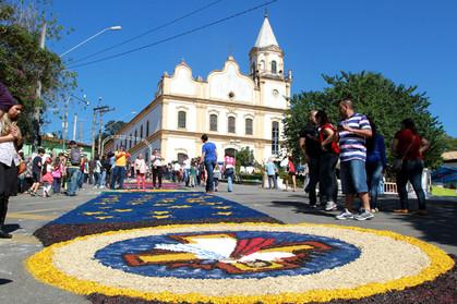 Feriado de Corpus Christi em Santana de Parnaíba
