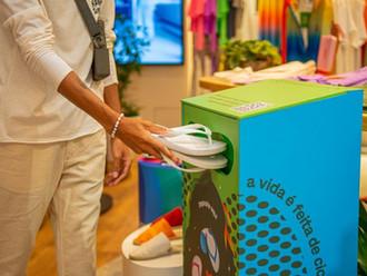Havaianas dá destino sustentável a sandálias descartadas