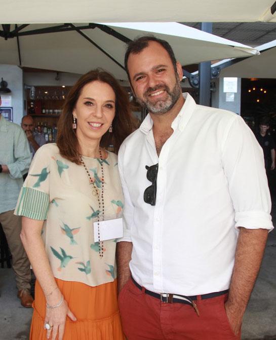 Esther Schattan e Erick Figueira de Mello
