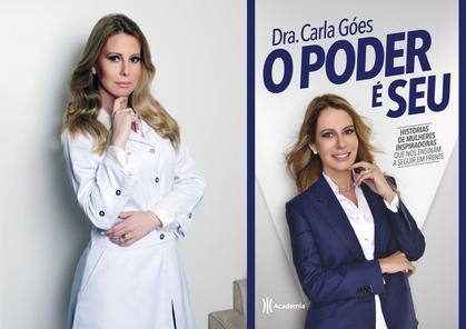 Dra. Carla Góes traz histórias de mulheres inspiradoras em seu novo livro