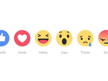 Chega de só curtir, Facebook libera novas formas de interagir
