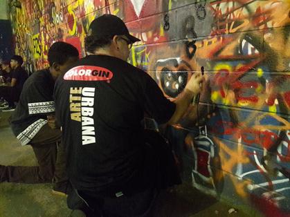 Brasilândia, Heliópolis, Rio Pequeno e Paraisópolis recebe ação com grafite e esporte