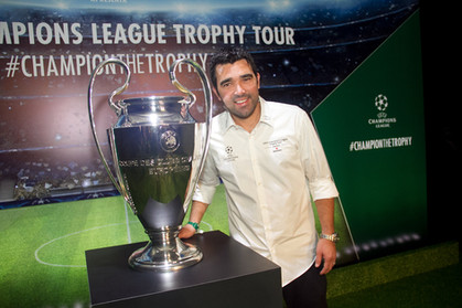 Fotos - Festa de abertura do Trophy Tour da UEFA Champions League, no MuBE