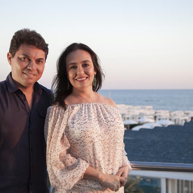 Pedro Ernesto Gualberto e Leandra Castro Gualberto