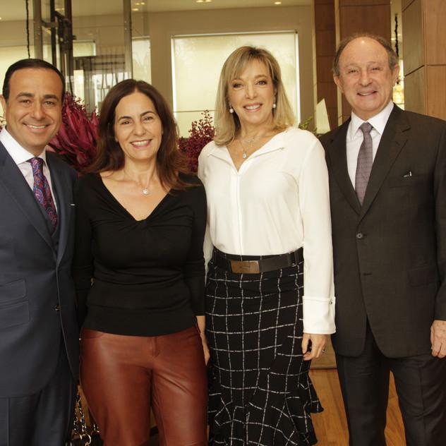 Sandro Augusto, Sandra Comodaro e  Anette e Marcel Rivkind