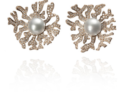 Fundo do mar inspira coleção de joias para noivas