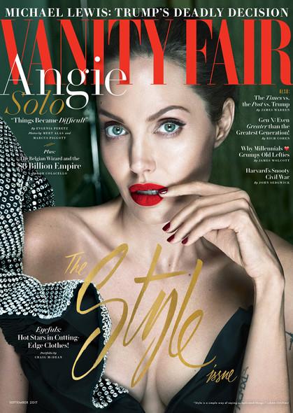 Vanity Fair trará primeira entrevista de Angelina Jolie pós-separação