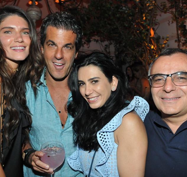 Lou Montenegro, Alvaro Garnero, Silvana Bertolucci e Kadu Paes