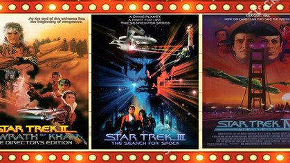 Cine Geek faz maratona com Star Trek II, III e IV