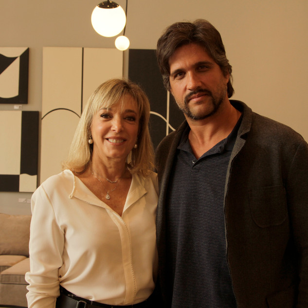 Anette Rivkind e Leo Chaves
