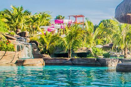Parque aquático para quem não gosta de água fria