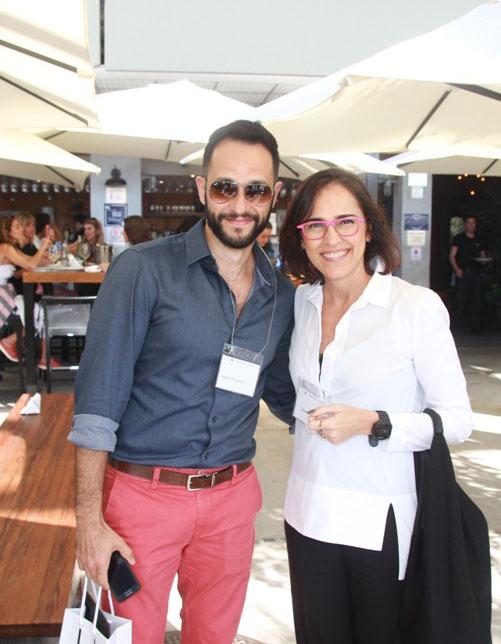 Rafael Pessanha e Gisele Taranto