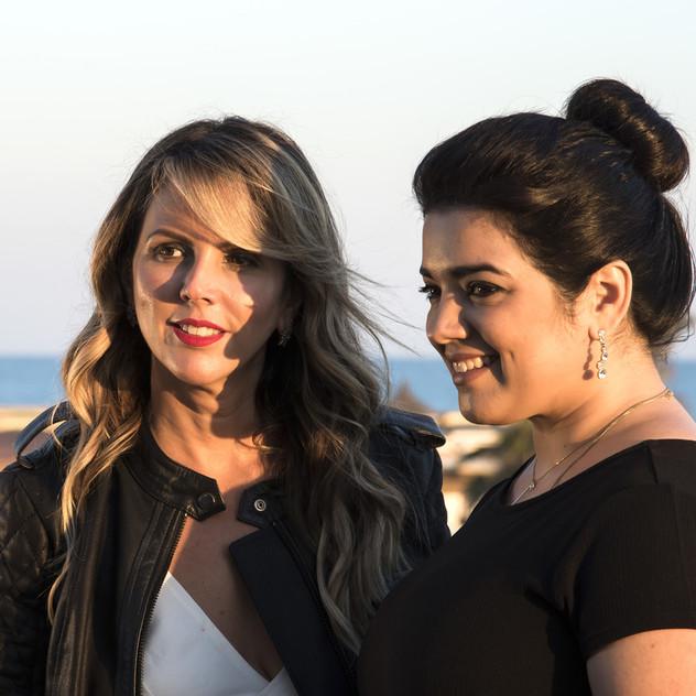 Mylena Bonfim e Larissa Guerra