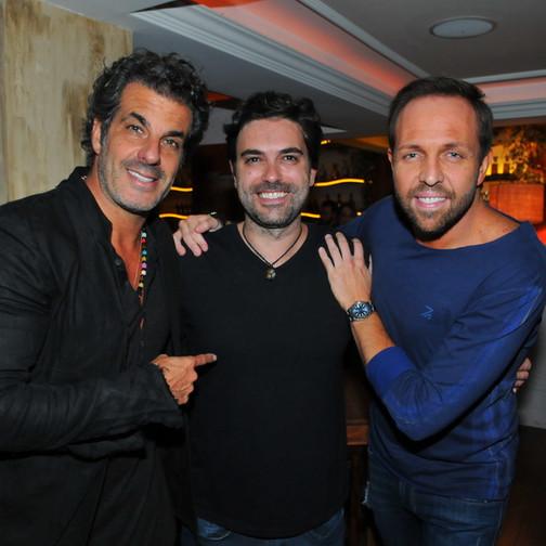 Alvaro Garnero, Rodrigo Toigo e Gustavo Sarti