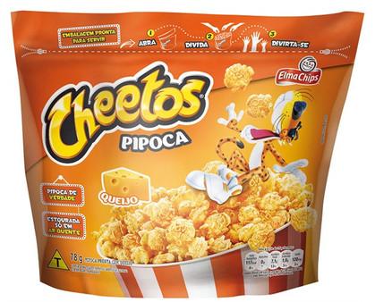 Família Cheetos agora tem pipoca pronta para comer