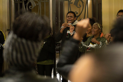 Candidato Pedro de Cristo encontra lideranças negras por cotas em serviço público