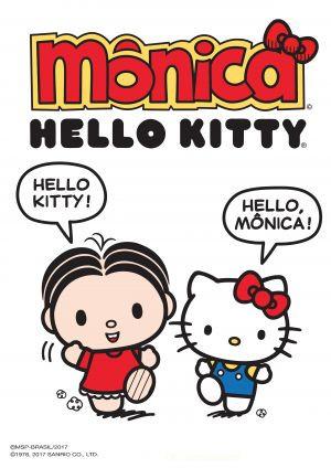 Mônica e Hello Kitty unem-se em co-branding inédito