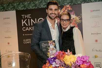 Lançamento do livro  The king Cake – A Arte de Confeitar de Nelson Pantano