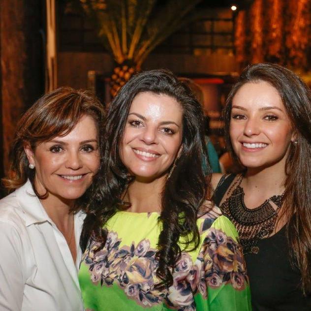 Mary Barros, Larissa Garib e Juliana Barros
