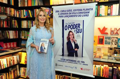 """Lançamento do livro """"O Poder É Seu"""" da Dra. Carla Góes na Livraria da Vila"""