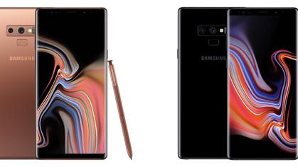 Novo Samsung Galaxy Note 9 pode chegar a 1 tera de memória