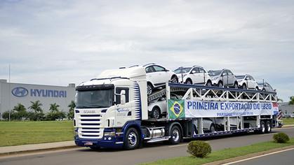 Hyundai HB20 fabricado no Brasil será exportado