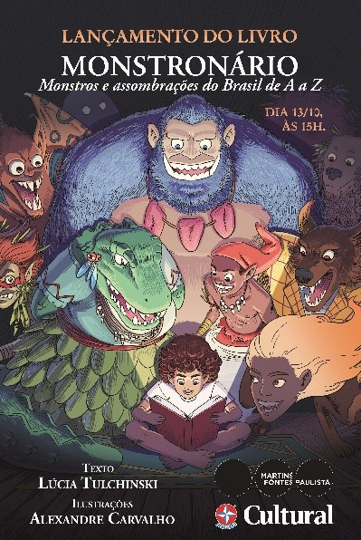 Obra que apresenta os seres mais fantásticos do folclore brasileiro ganha data de lançamento em São